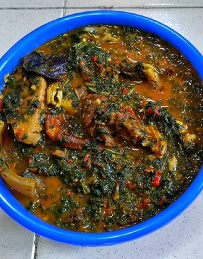 Egusi Soup With Spinach
